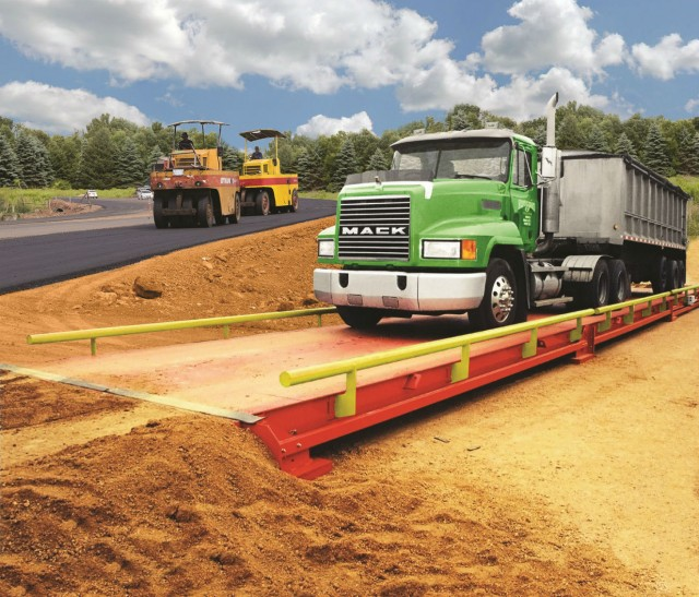 Alliance's modular portable truck scale is easy to relocate