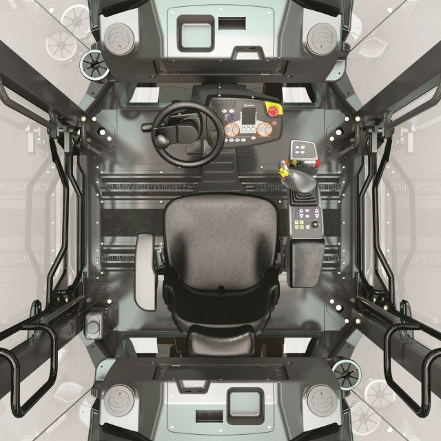 Easy drive: Hamm's intuitive operating concept for rollers