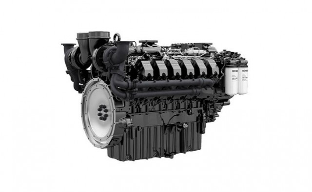 Powerful new G-Drive diesel engine range co-developed by Kohler and Liebherr.