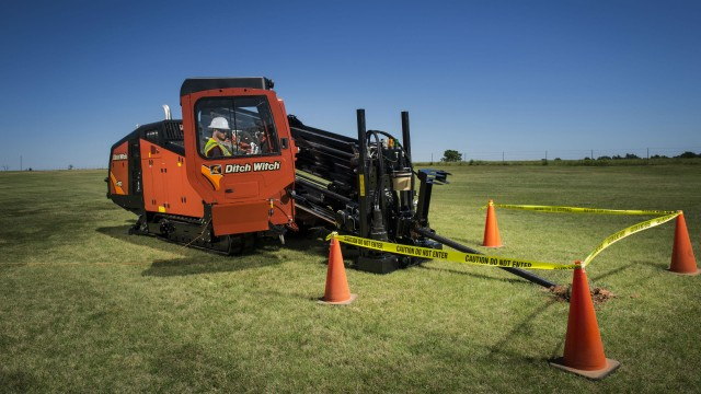 JT60 horizontal directional drill.
