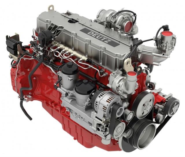 DEUTZ TCD 7.8 diesel engine.