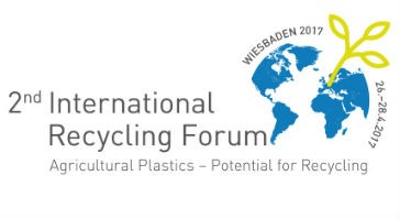 International Recycling Forum on Agricultural Plastics set for spring 2017