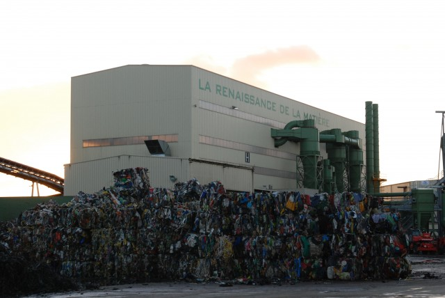 The GDE Recyclage facility, France.