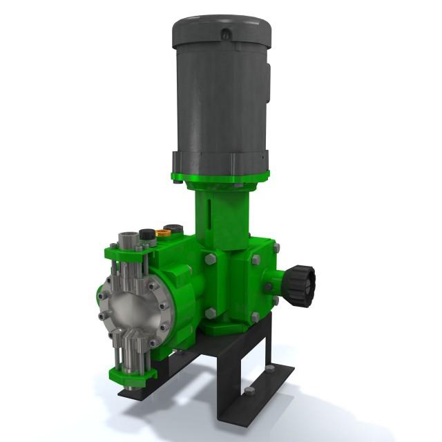 Enhancements extend pressure and flow ranges of metering pumps