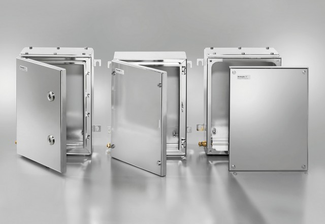 Steel enclosures designed for hazardous areas