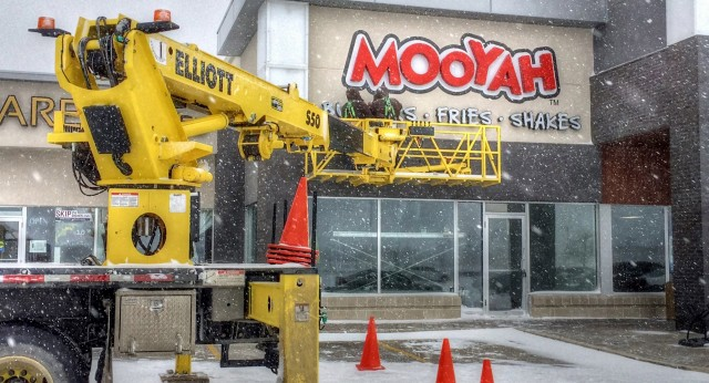 Winterizing aerial lifts and cranes