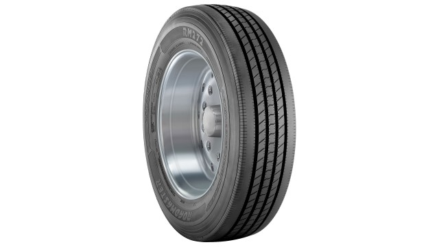 Two new sizes added to tire line good for drop-deck trailers