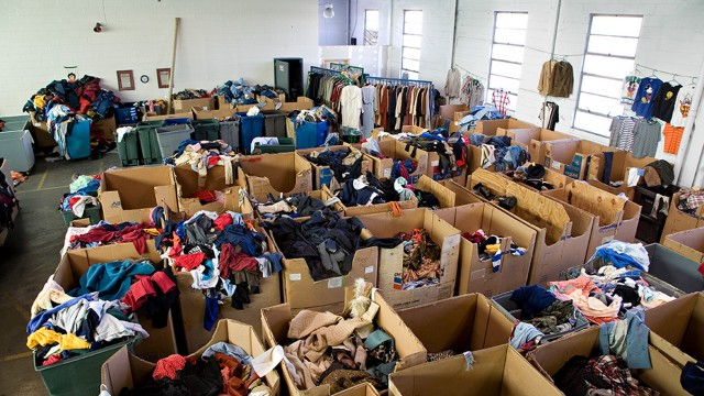 Collecting used textiles. Well over 15 million tons of used clothing and textiles end up in North American landfills each year in North America, yet more than 95 percent of all textiles can be recycled or reused in some way.