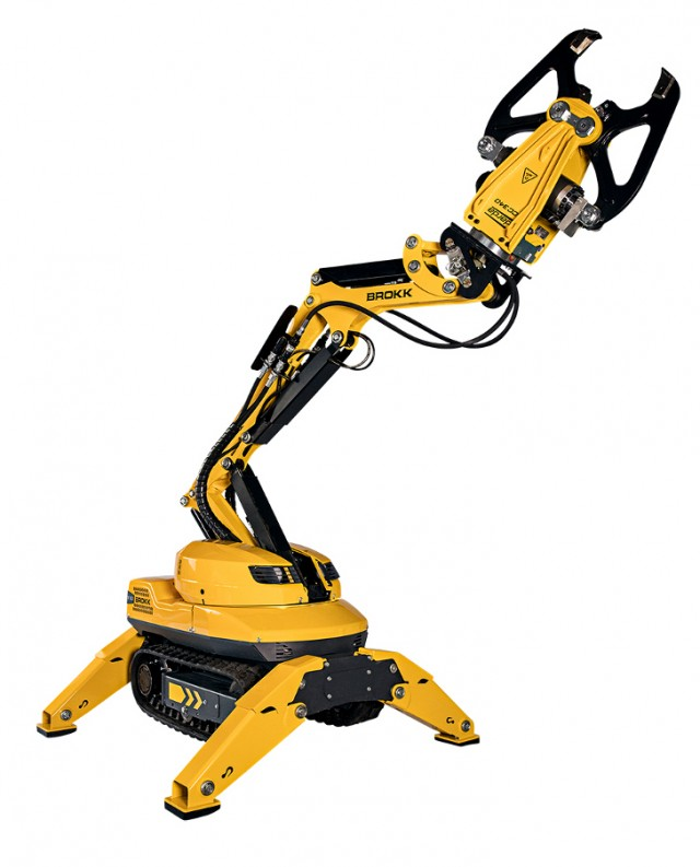 110 Remote-Controlled Demolition Machine designed for increased power and efficiency