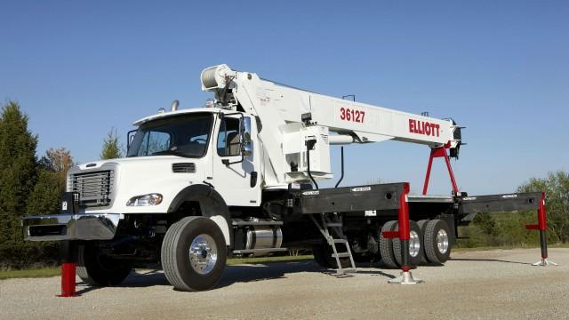 Elliott Equipment Companies  Boom Trucks Now Feature Industry's Best Warranty