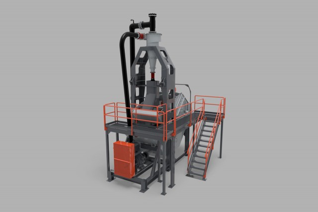 Sand plant designed with longer-lasting materials