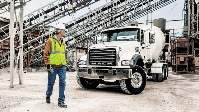 Mack announces lineup of products to be displayed at World of Concrete