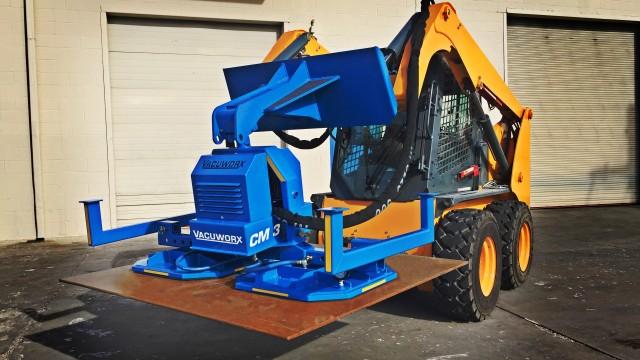 Versatile compact modular vacuum lifting system