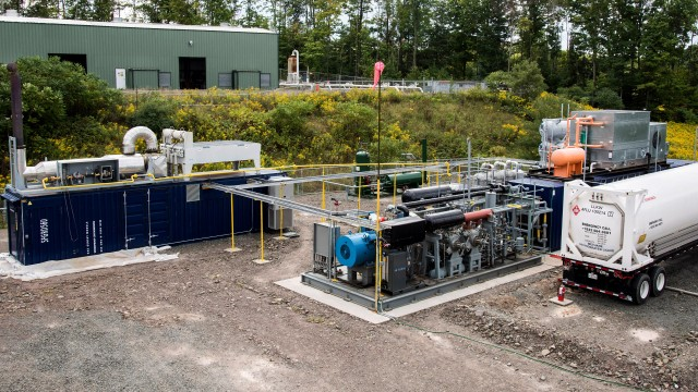Dresser-Rand puts first micro-scale LNG production system into operation
