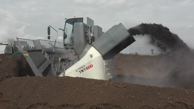 The TWT 500 Windrow Turner.