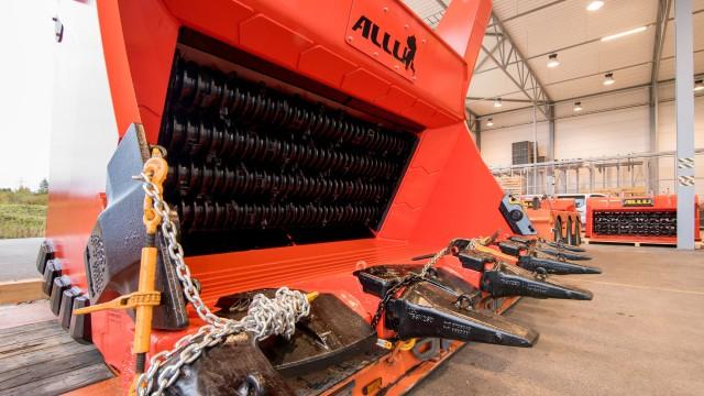 ALLU introduces large material processing bucket designed for front-shovel mining excavators
