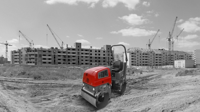 Chicago Pneumatic Launches AR95 Diesel Ride-On Roller