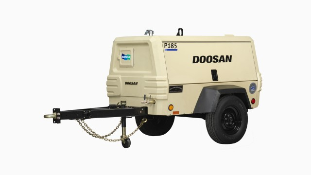 Doosan Portable Power P185WDO air compressor