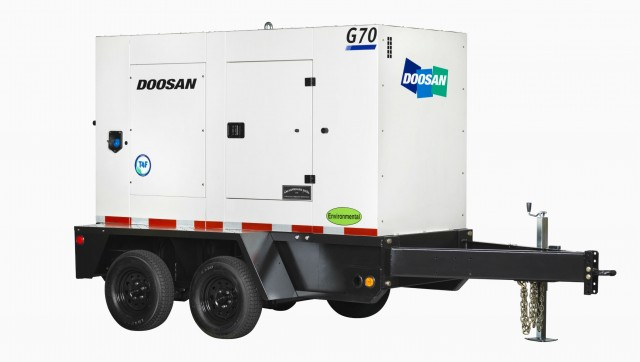 Doosan Portable Power adds G25, G50 AND G70 models to mobile generator lineup