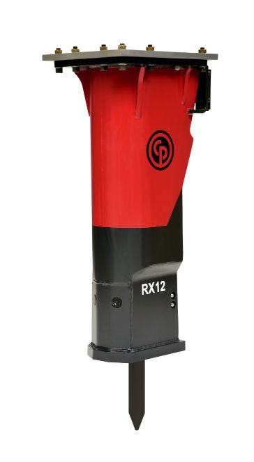 Chicago Pneumatic Introduces RX12 Light Hydraulic Breaker