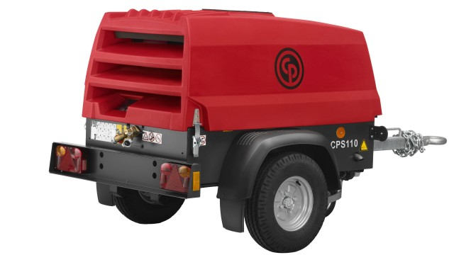 Chicago Pneumatic Introduces Red Rock CPS 110 Portable Compressor