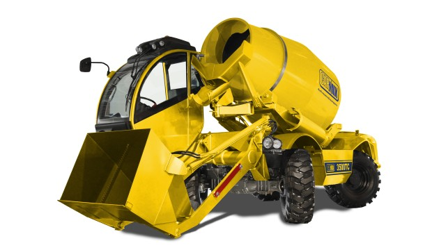 Reliable self-loading concrete mixer offers design and technological innovation