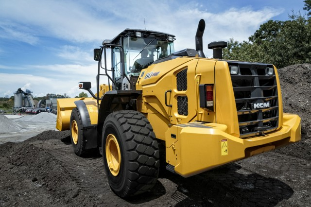 KCM Introduces 80Z7 Tier 4 Final Wheel Loader