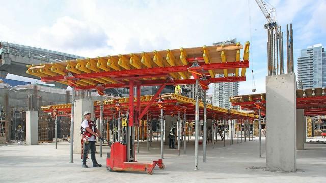 Spotlight on concrete formwork