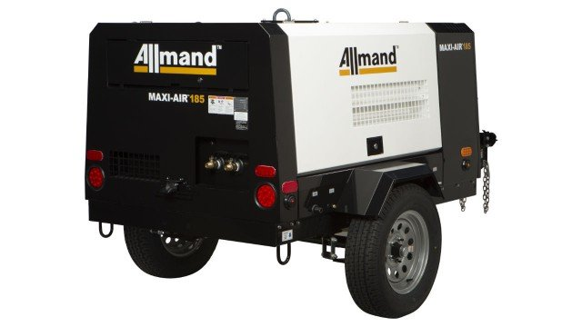 Allmand Expands Into Portable Air Compressor Market, Launches Maxi-Air