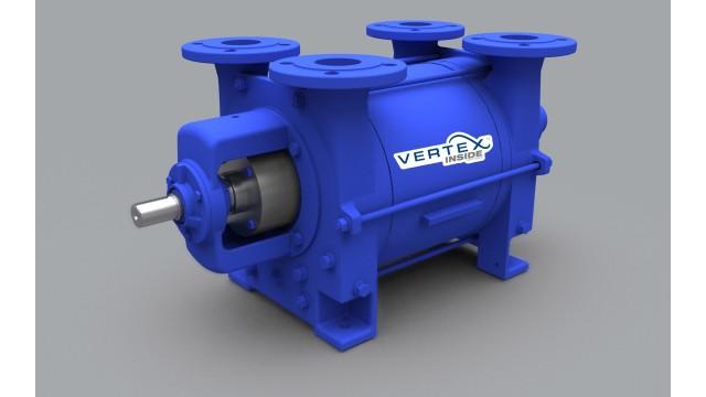 Liquid ring pump improves efficiency up to 7 percent