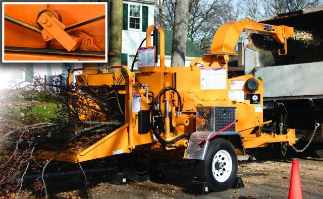 Wood Chipper Clutch Replacement : Bandit industries recycling product news