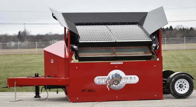 Portable Topsoil Screeners : Lake erie portable screeners recycling product news