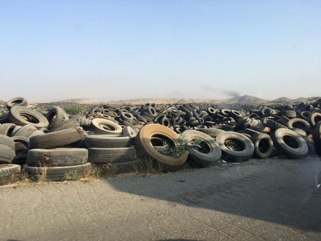 NRC, located in Saudi Arabia, was looking for an efficient TDF/Tire Shred System for processing their vast whole tire landfill.