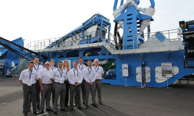 CDE unveils new sand washing plant at CONEXPO-CON/AGG