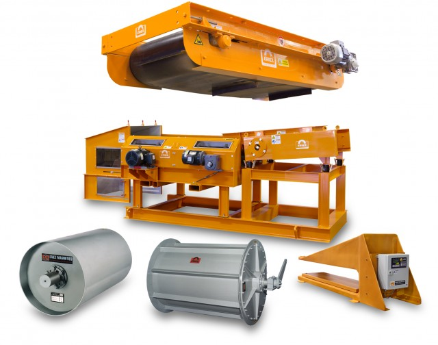 Complete packages for MRF/MSW applications available from Eriez