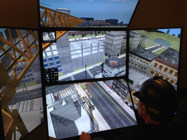 ​Europe's Largest Construction Training College (CITB) Standardises on Vortex Simulators for Crane Operator Training