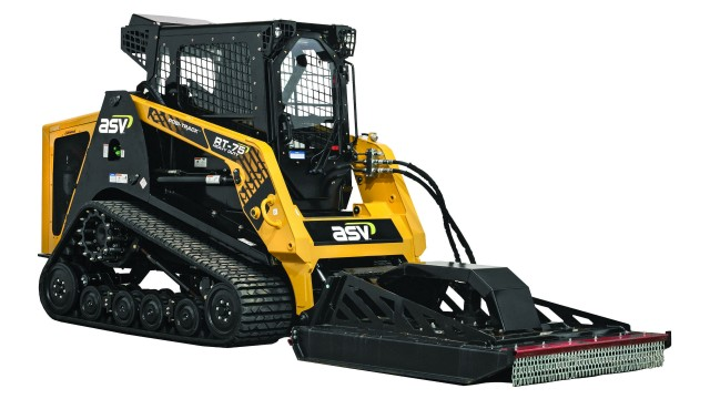 ASV Offers Powerful RT-75 HD Compact Track Loader for Productivity in Tough Applications