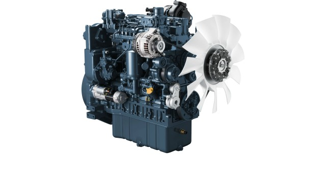 Kubota unveiling its first-ever diesel engine above 100HP, ready for Stage V regulations
