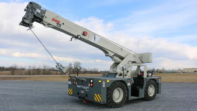 Manitowoc launches new Shuttlelift SCD15 at The Rental Show 2017