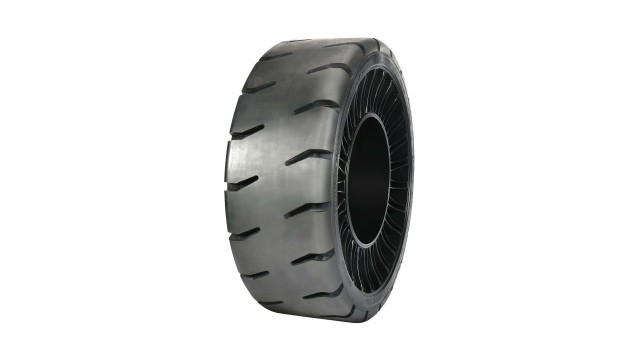 New Michelin Hard Surface Traction Airless Radial Tire Available for Skid Steers