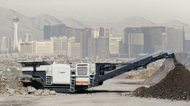 Metso community-friendly Lokotrack Urban series designed for tight-space city crushing