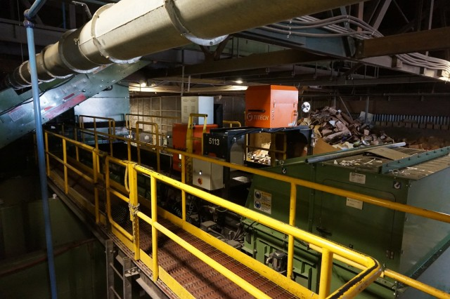 The Loraas Recycle MRF uses TITECH optical sorters, supplied by Van Dyk Recycling Solutions, for capturing paper, plastics, tin and aluminum.