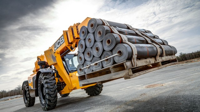 Telehandler advancements at JCB