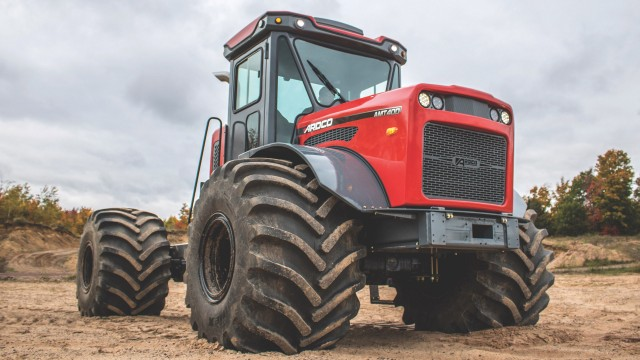 Articulating Multi-Purpose Truck designed for off-road applications