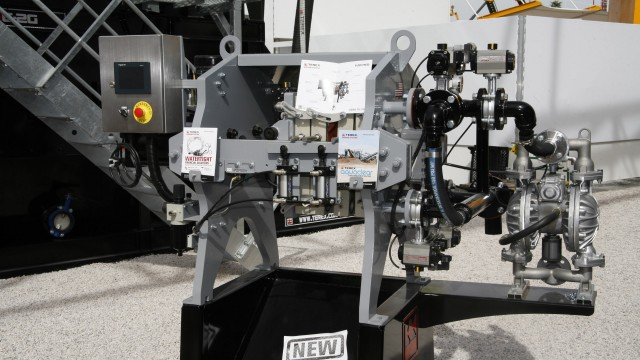 Terex launches AquaClear Water Management Solutions at CONEXPO