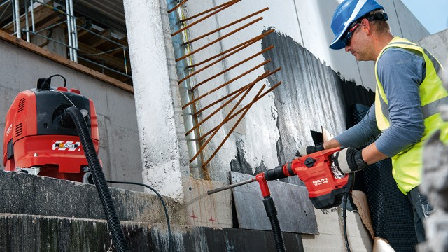 Hilti adds powerful, lightweight rotary hammer to its line