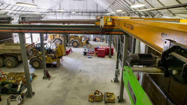 Building up resources: fabric structures provide cover for massive Manitoba project