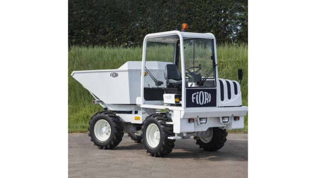Fiori articulated compact dumper introduced to North America
