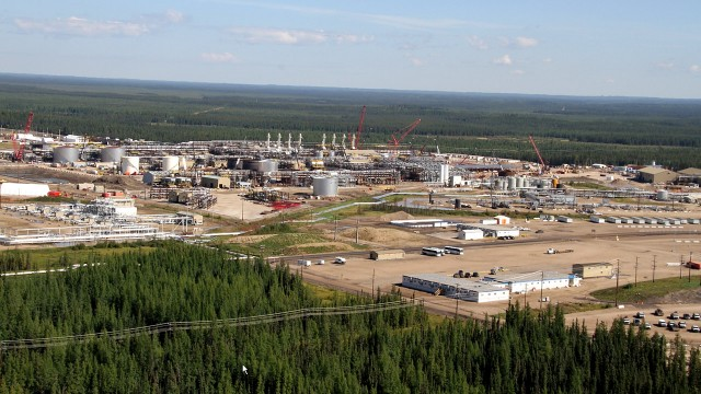 Cenovus' Foster Creek facility. Photo courtesy Cenovus