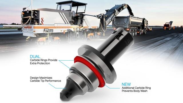Sandvik introduces tool for abrasive asphalt milling conditions